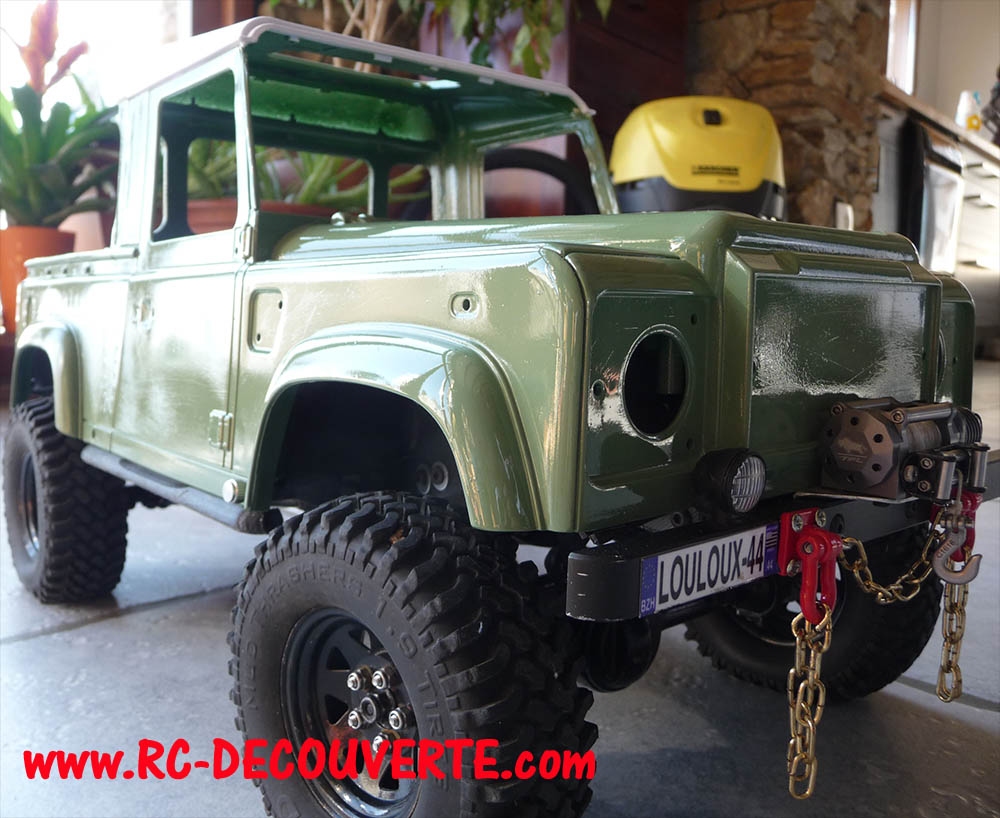 Fabrication Land Rover Pickup Defender D90 pour Léo - Page 4 Pickup36