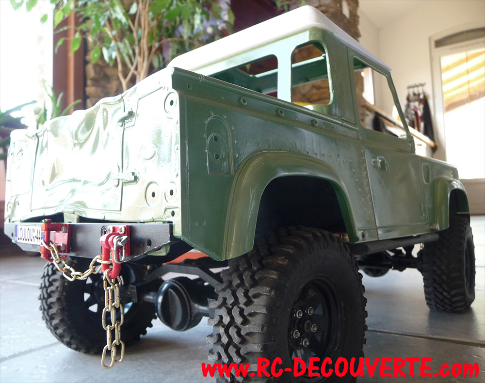 Fabrication Land Rover Pickup Defender D90 pour Léo - Page 4 Pickup37