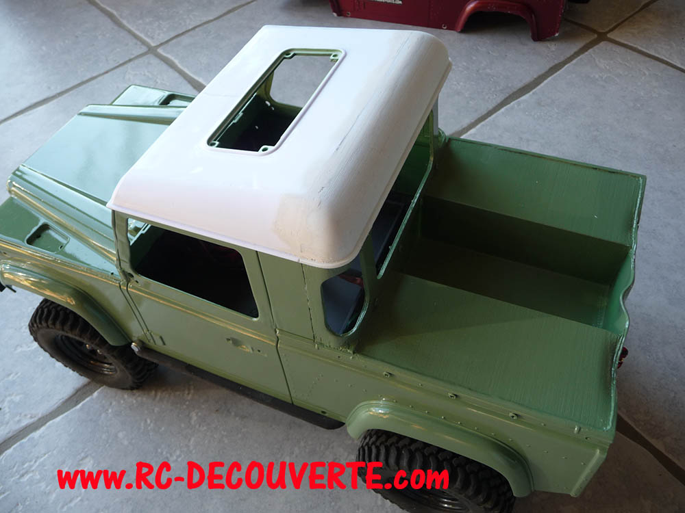 Fabrication Land Rover Pickup Defender D90 pour Léo - Page 4 Pickup39