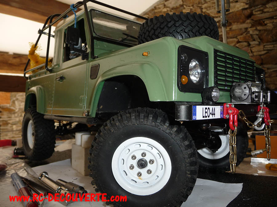 Fabrication Land Rover Pickup Defender D90 pour Léo - Page 8 Pickup40