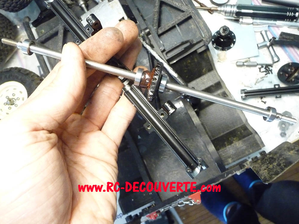 Fabrication Land Rover Pickup Defender D90 pour Léo - Page 8 Pickup49