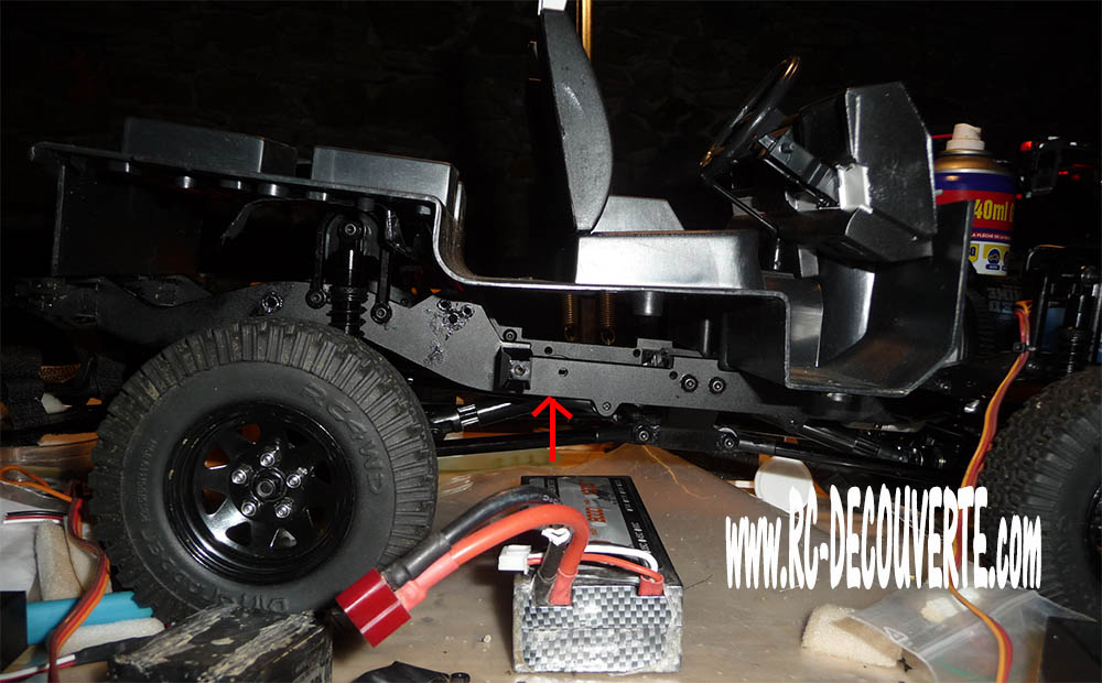 Rc4wd Gelande 2 Land Rover Defender D90 : Présentation et Modification - Page 2 Proble10