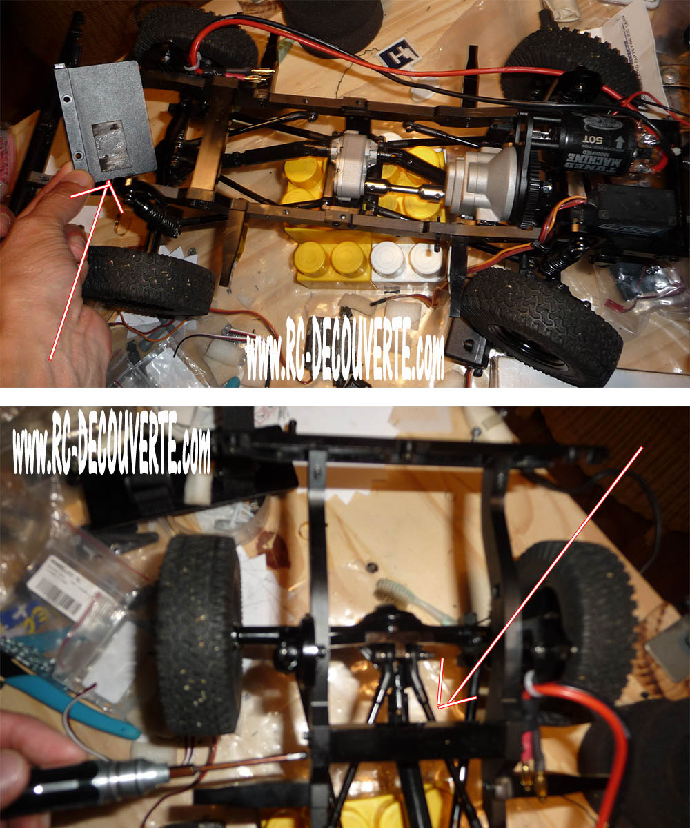 Rc4wd Gelande 2 Land Rover Defender D90 : Présentation et Modification - Page 2 Proble11