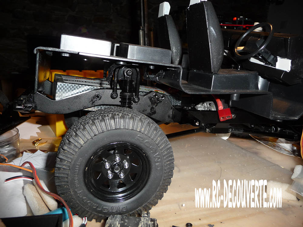 Rc4wd Gelande 2 Land Rover Defender D90 : Présentation et Modification - Page 2 Proble12