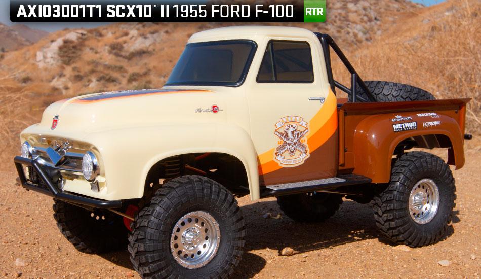 Nouveaux Axial SCX10 II Ford F-100 1955 RTR en 2 coloris Produc11