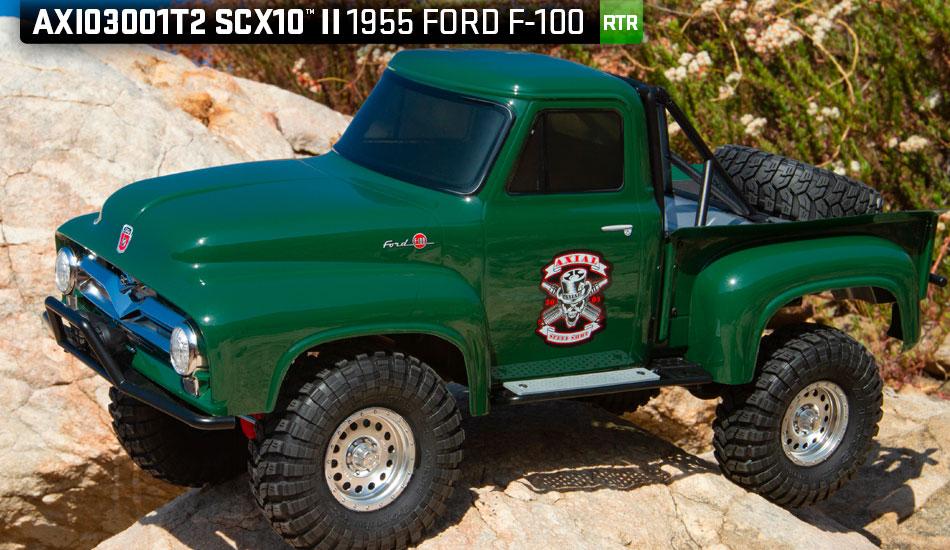 Nouveaux Axial SCX10 II Ford F-100 1955 RTR en 2 coloris Produc12