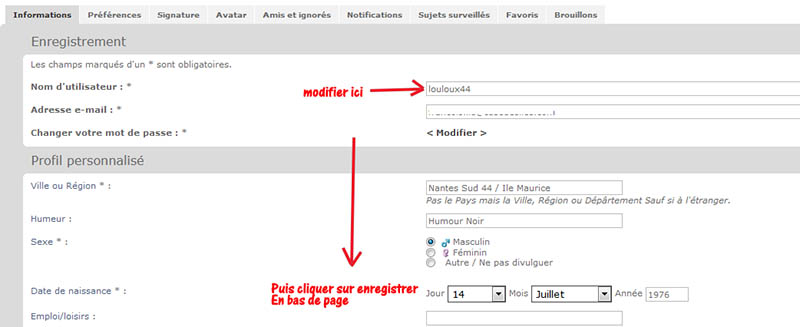 ⚠️Avis aux membres disposant d'Espaces Vides dans leur Pseudo ou Nom d'utilisateur Profil10