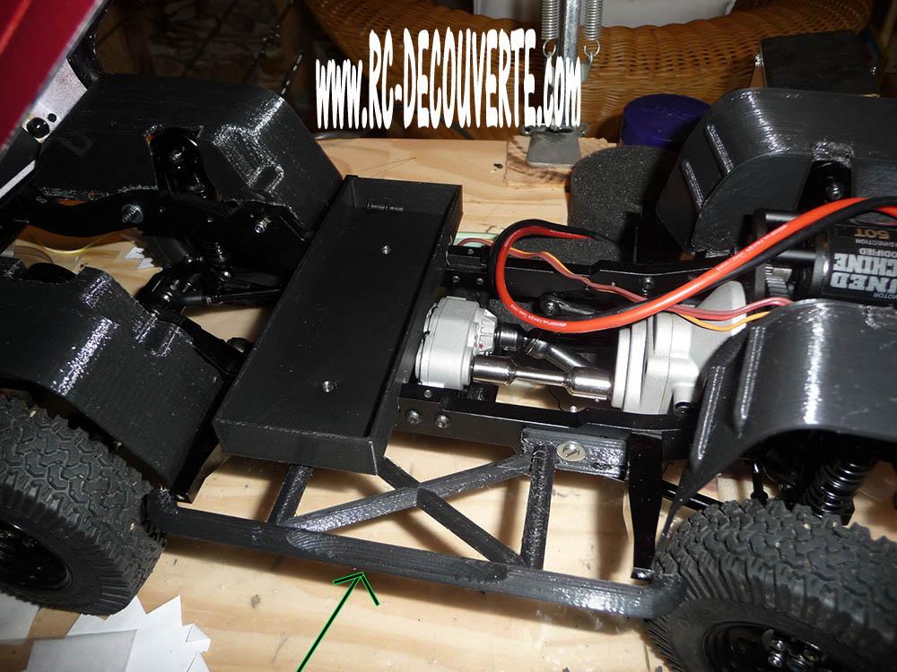 Chassis Boom Racing D90 D110 VS RC4WD Gelande 2 Protec11