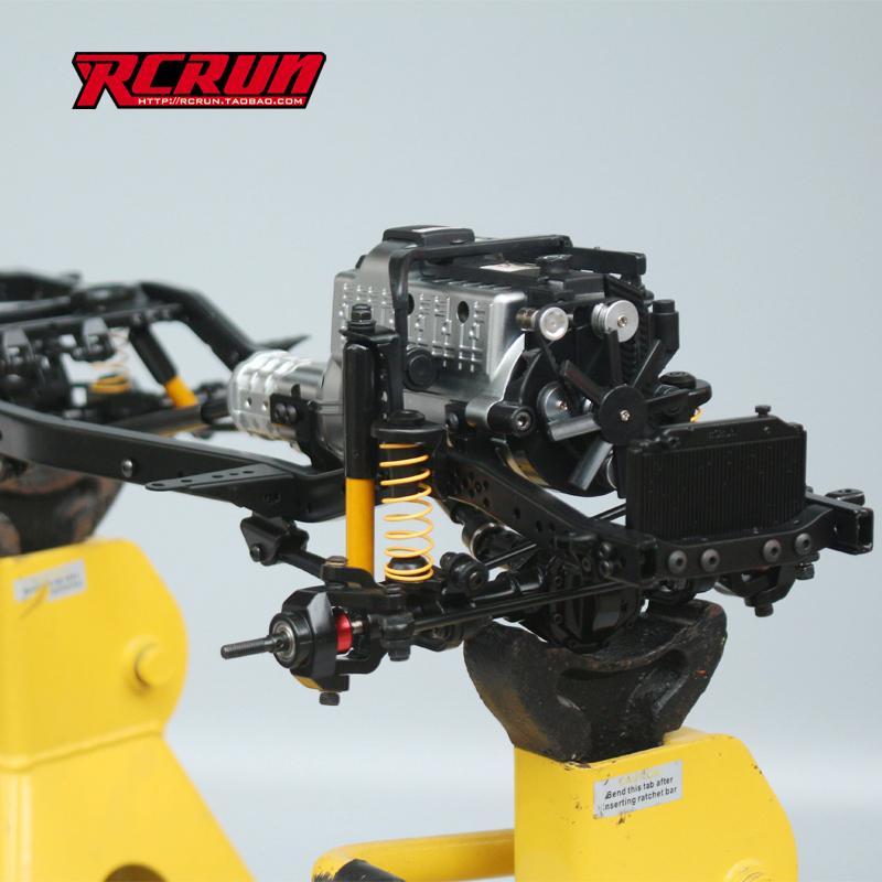 Nouveauté Chassis RC RUN 1:10 LC80 Kit Rc-run10