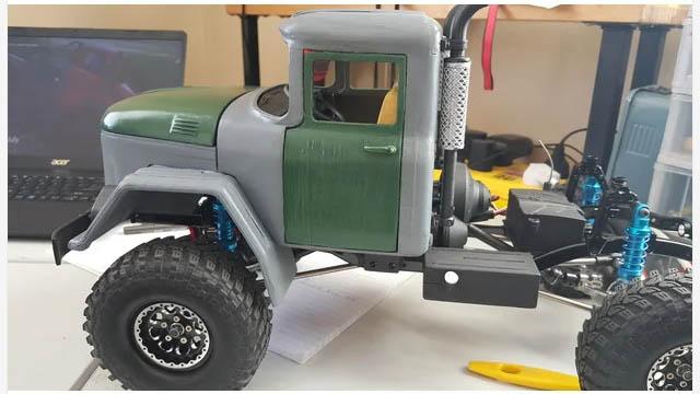 Camion Zil 131 6x6 impression 3D Realis10