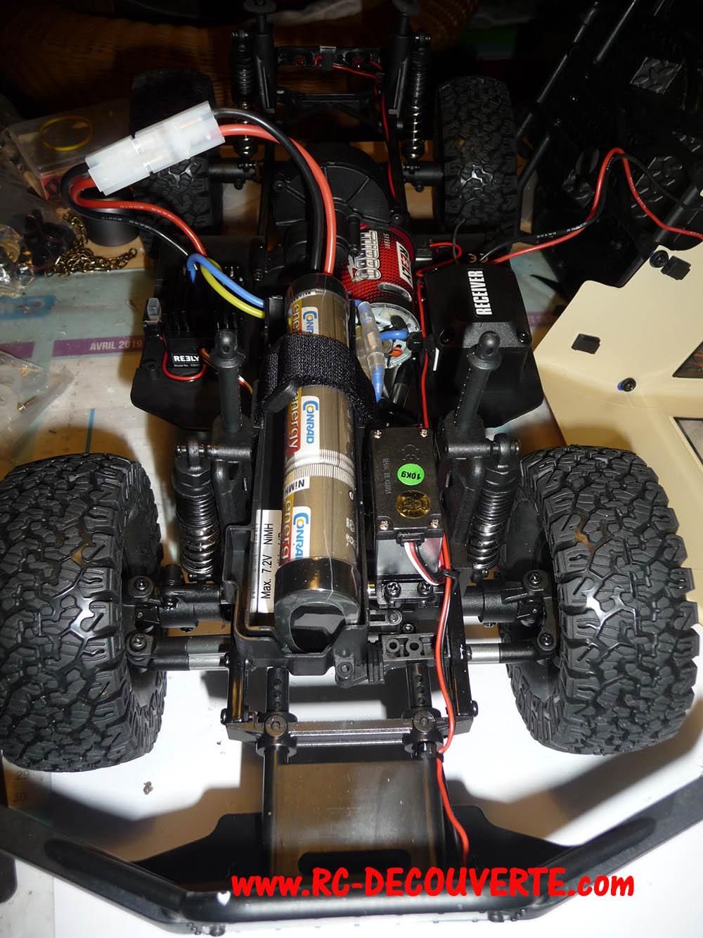 Crawler Reely Free Men Extreme RTR RE-6549612 VS Scx10 II : Présentation et modification by Louloux Reely-13