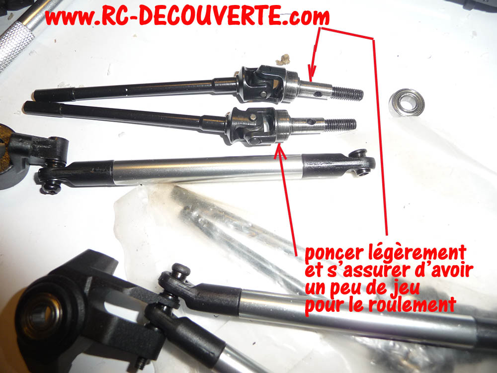 Crawler Reely Free Men Extreme RTR RE-6549612 VS Scx10 II : Présentation et modification by Louloux Reely-17