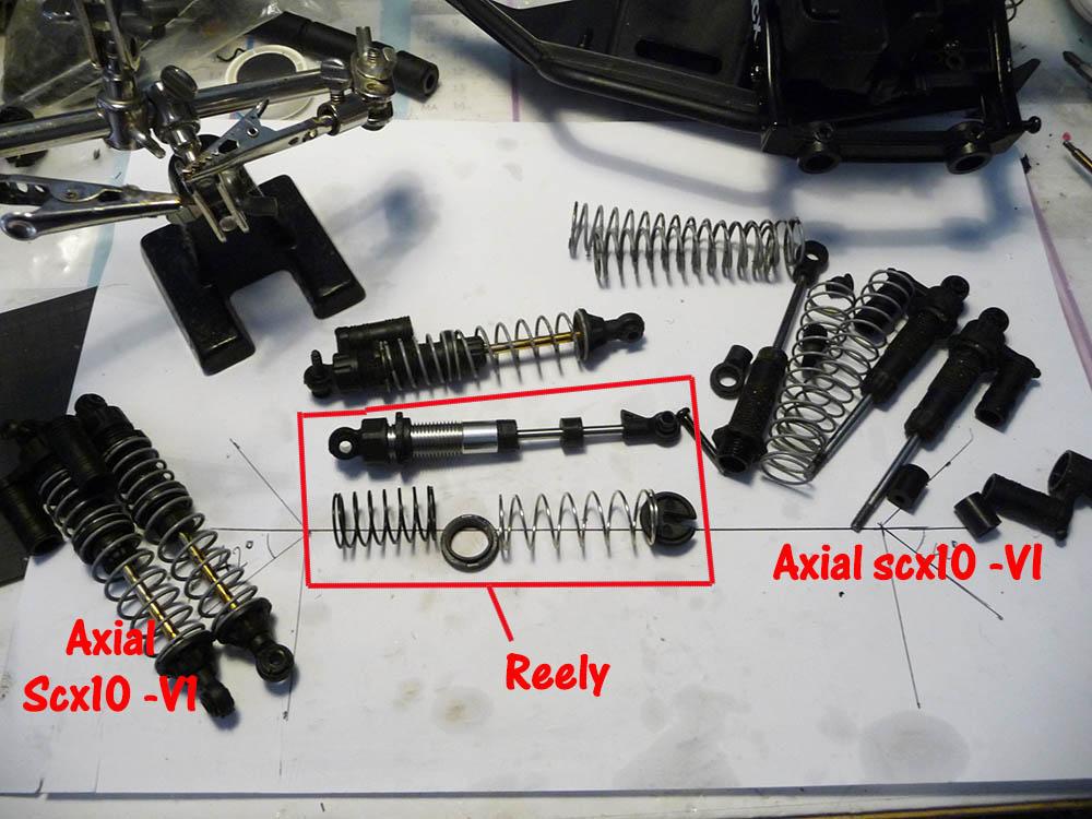 Crawler Reely Free Men Extreme RTR RE-6549612 VS Scx10 II : Présentation et modification by Louloux Reely-19