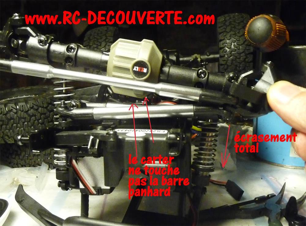 Crawler Reely Free Men Extreme RTR RE-6549612 VS Scx10 II : Présentation et modification by Louloux Reely-26