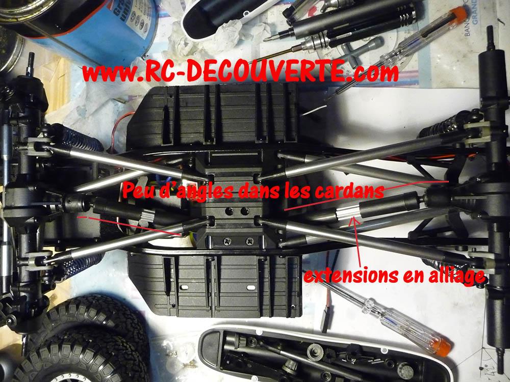 Crawler Reely Free Men Extreme RTR RE-6549612 VS Scx10 II : Présentation et modification by Louloux Reely-28