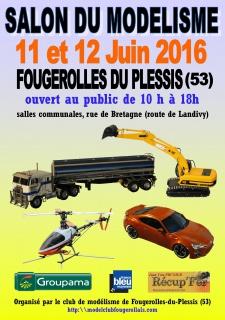 Salon du Modélisme à Fougerolles du Plessis 53 du 11 au 12 Juin 2016 Salon-10