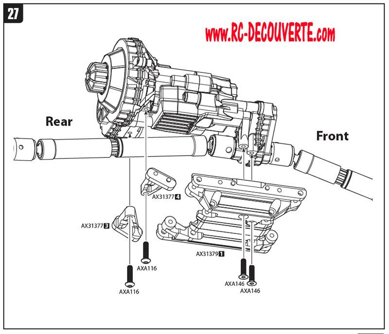 recherche de docs axial wraith Scx10-20