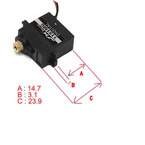 Micro servo en remplacement des 2065 du TRX-4 : différentiel et boite de vitesse - Page 7 Servo-13