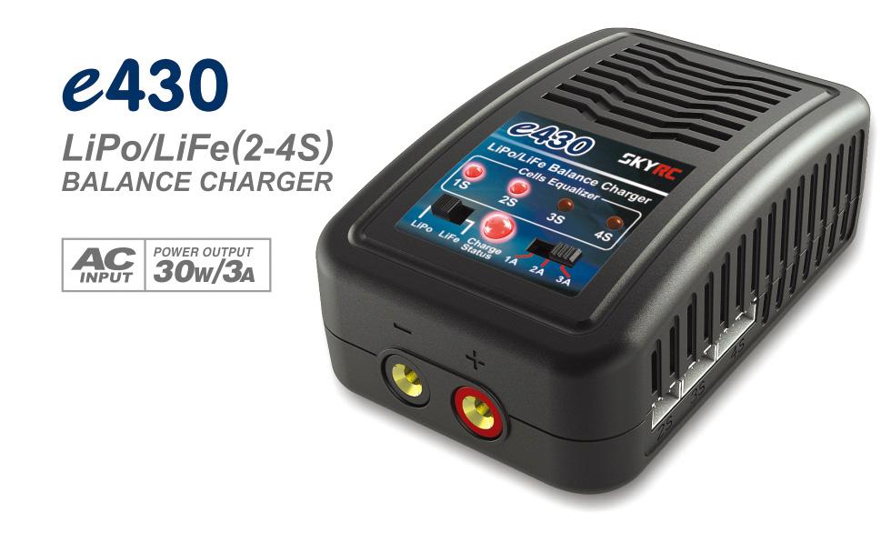 Chargeur de voyage Lipo 2S à 4S léger, puissant et pas cher Skyrc-10