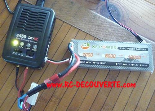 Chargeur de voyage Lipo 2S à 4S léger, puissant et pas cher Skyrc-14