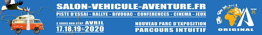 Salon du Véhicule d'Aventure SVA 2020 - Corcoué sur Logne (44) : du 17 au 19 avril Sva20210