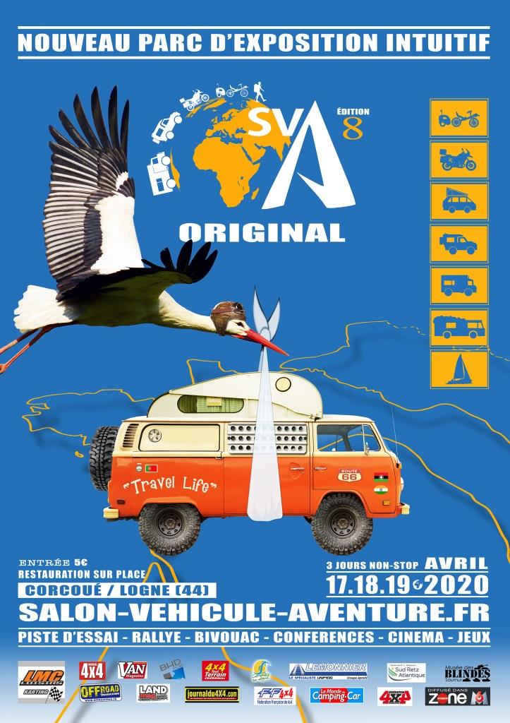 Salon du Véhicule d'Aventure SVA 2020 - Corcoué sur Logne (44) : du 16 au 18 Octobre Sva20211