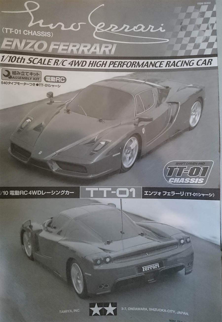 Que vaut la Tamiya TT01 Ferrari Enzo ? Tamiya11