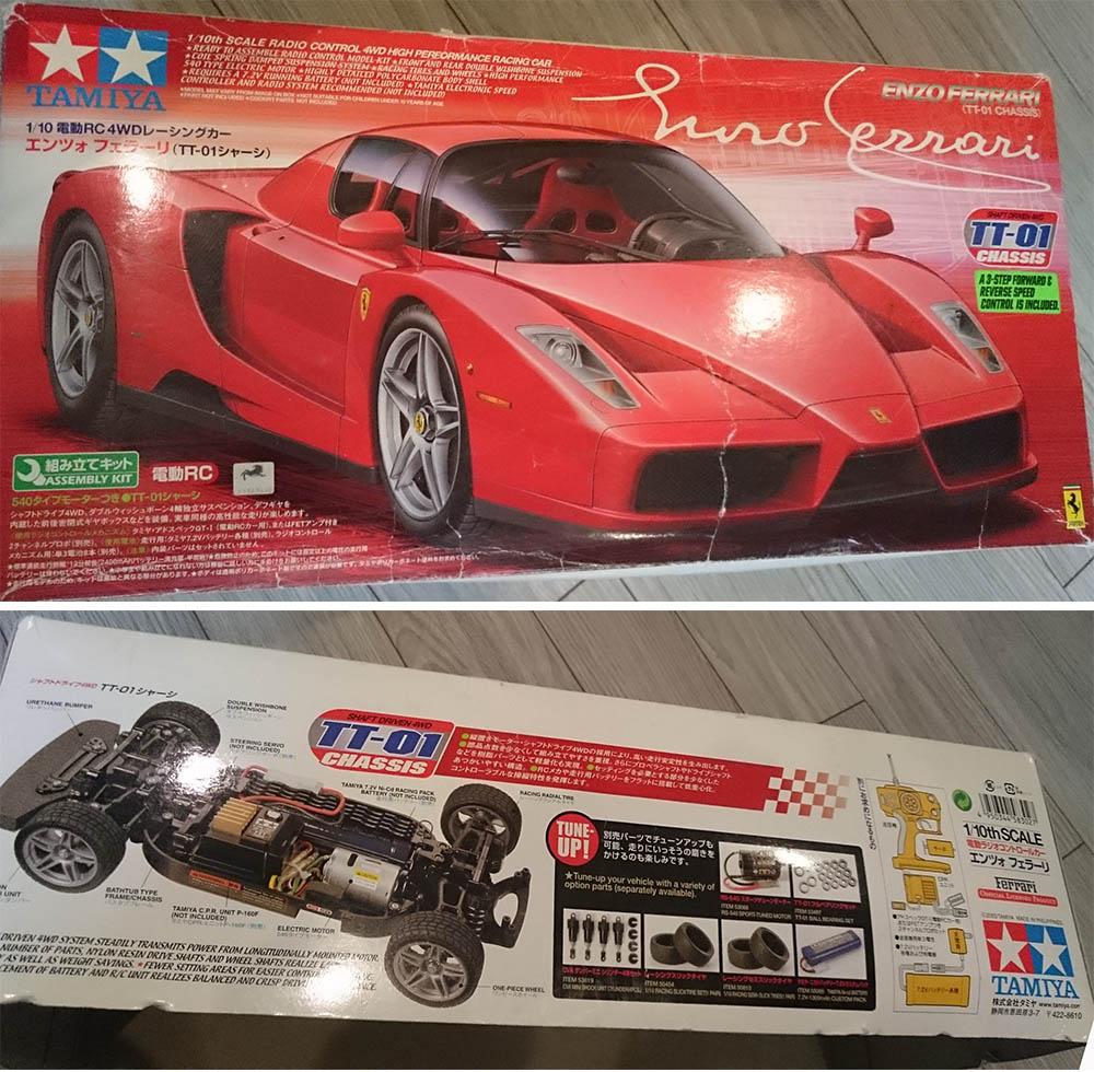 Que vaut la Tamiya TT01 Ferrari Enzo ? Tamiya13