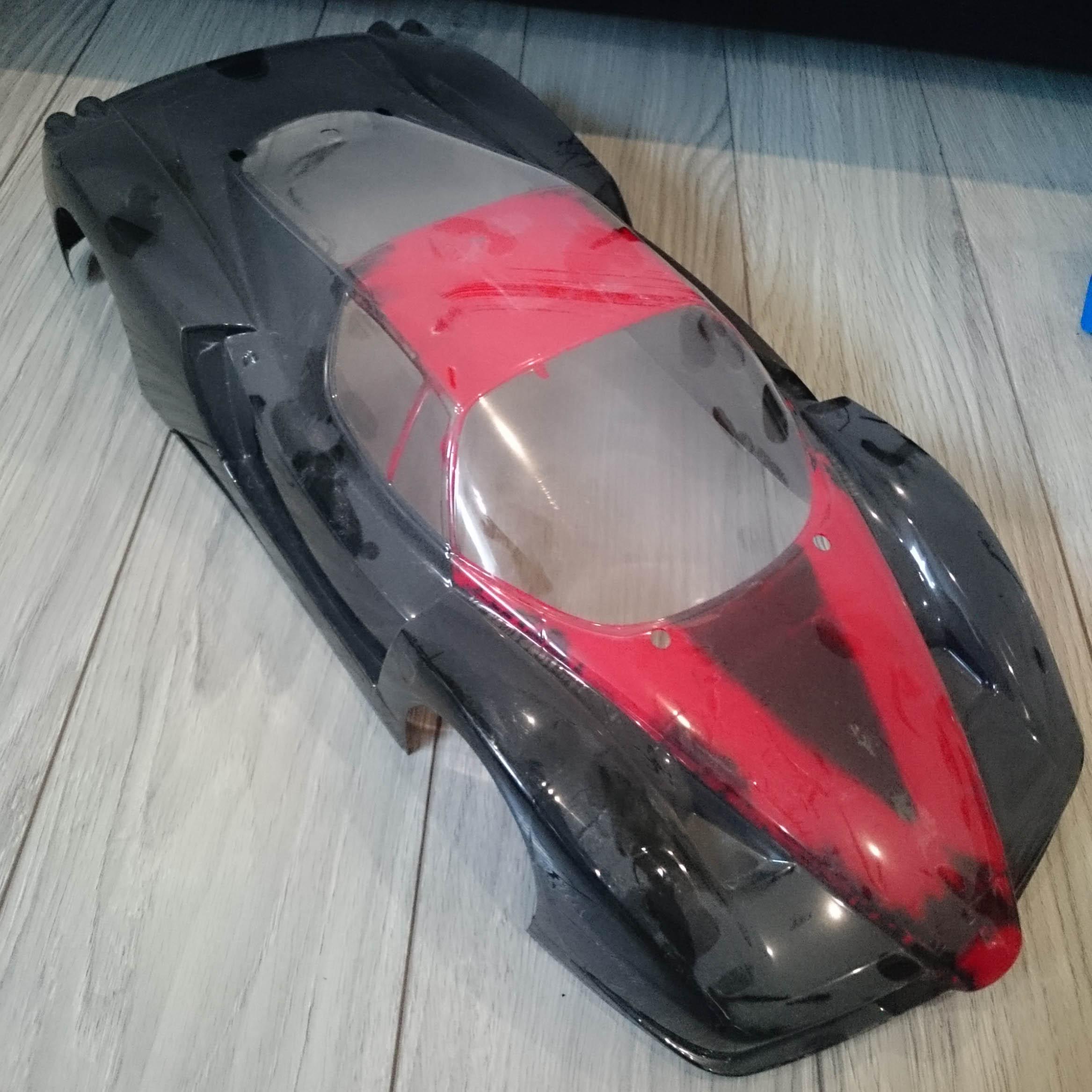 Que vaut la Tamiya TT01 Ferrari Enzo ? Tamiya16