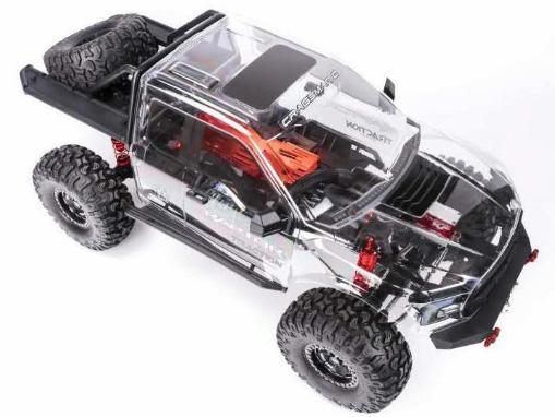 Nouveau Traction Hobby Ford F150 1/8 ARTR Cragsman Tracti10