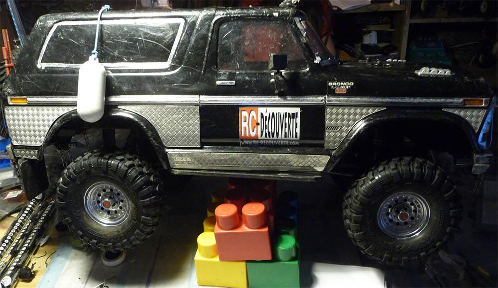 Test de différentes tailles et de styles de pneus et jantes sur Traxxas TRX-4 Bronco Trx-4-38