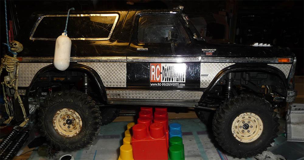 Test de différentes tailles et de styles de pneus et jantes sur Traxxas TRX-4 Bronco Trx-4-39