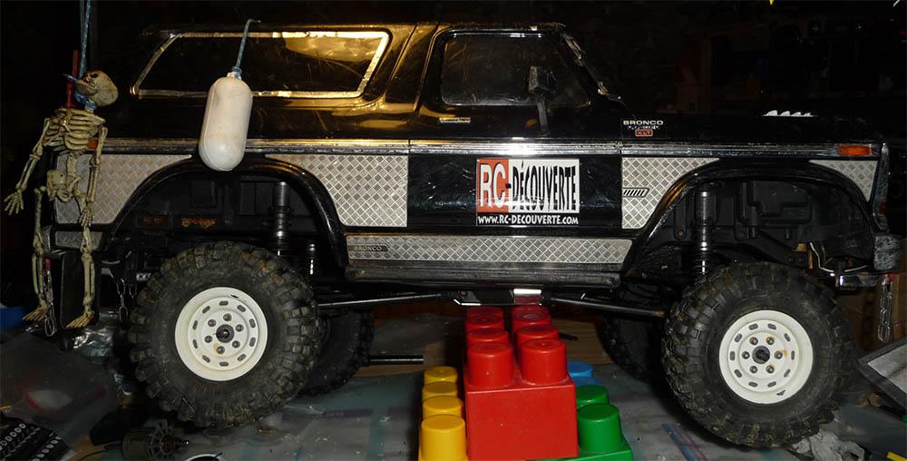 Test de différentes tailles et de styles de pneus et jantes sur Traxxas TRX-4 Bronco Trx-4-41