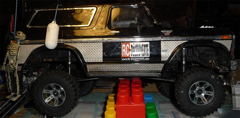 Test de différentes tailles et de styles de pneus et jantes sur Traxxas TRX-4 Bronco Trx-4-42