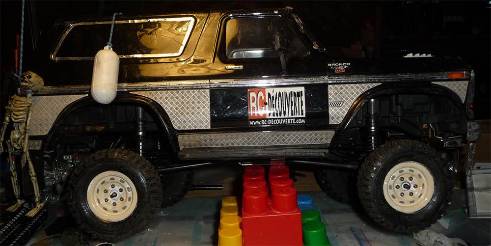 Test de différentes tailles et de styles de pneus et jantes sur Traxxas TRX-4 Bronco Trx-4-43