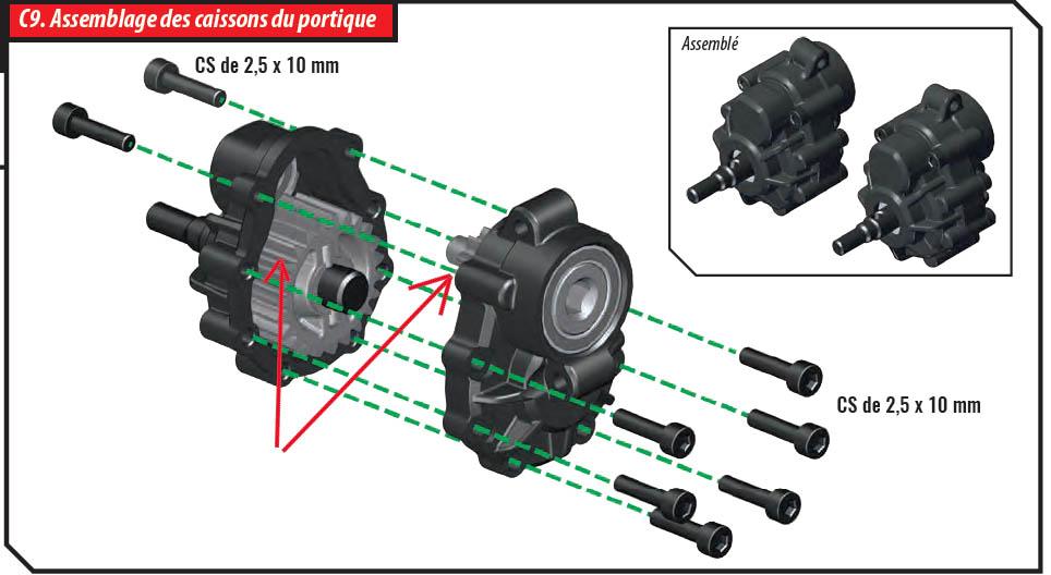 GRAISSAGE DES PONTS TRX4 Trx-410