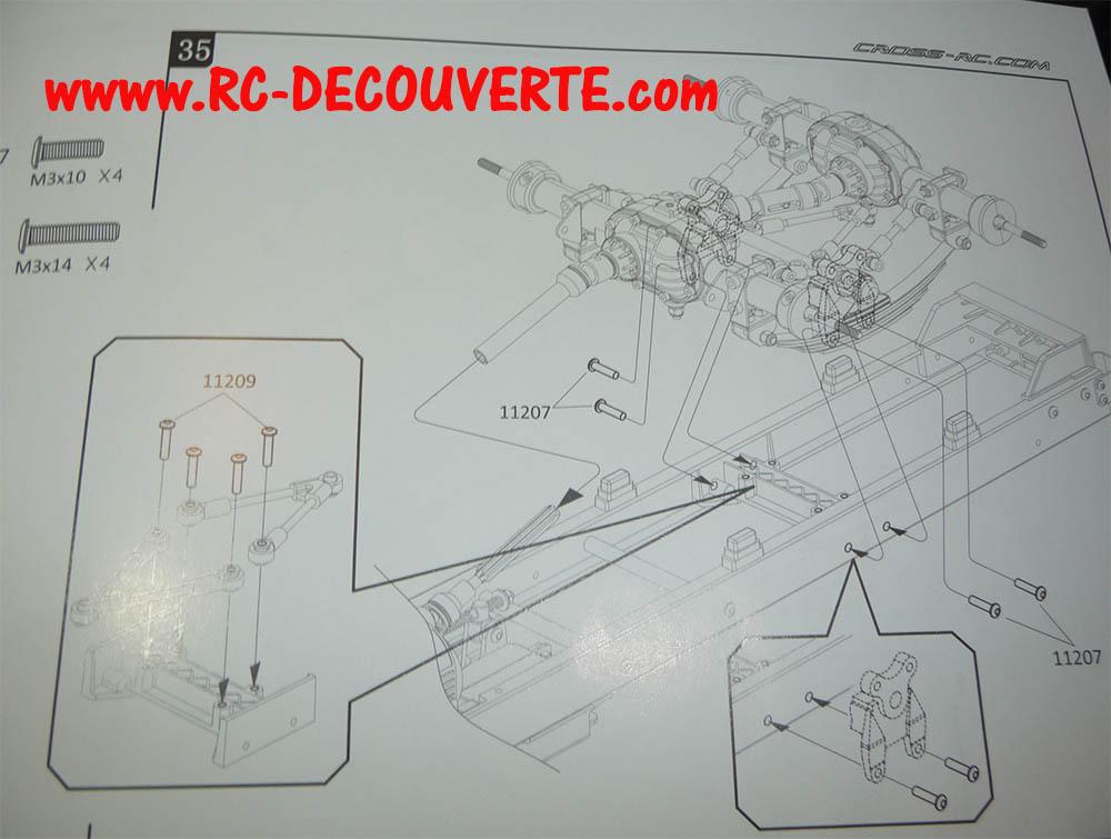 Camion Cross RC UC6 6x6 de Louloux : Montage et Présentation - Page 9 Uc6-ba17