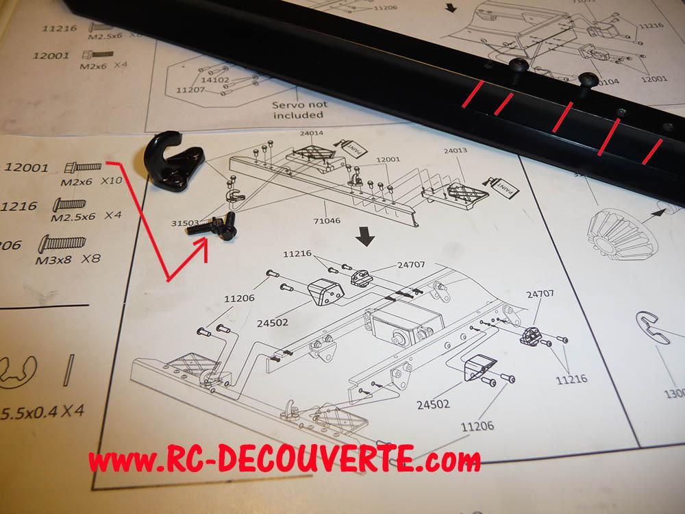 Camion Cross RC UC6 6x6 de Louloux : Montage et Présentation - Page 9 Uc6-ch22