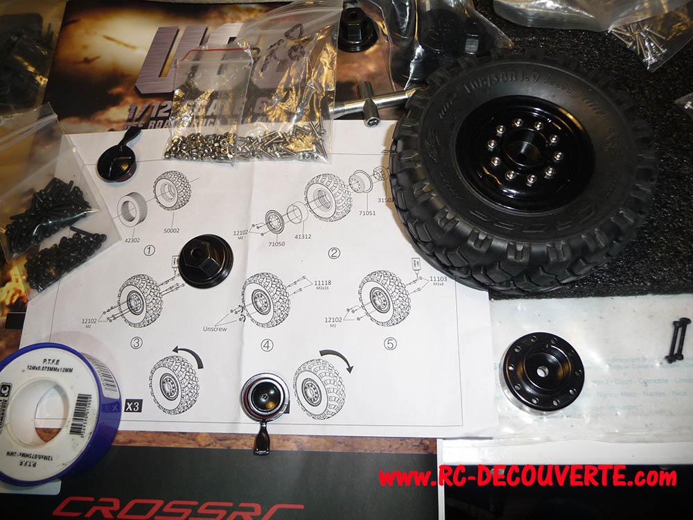 Camion Cross RC UC6 6x6 de Louloux : Montage et Présentation Uc6-pn11