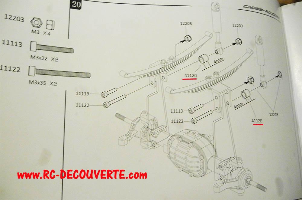 Camion Cross RC UC6 6x6 de Louloux : Montage et Présentation - Page 4 Uc6-su16