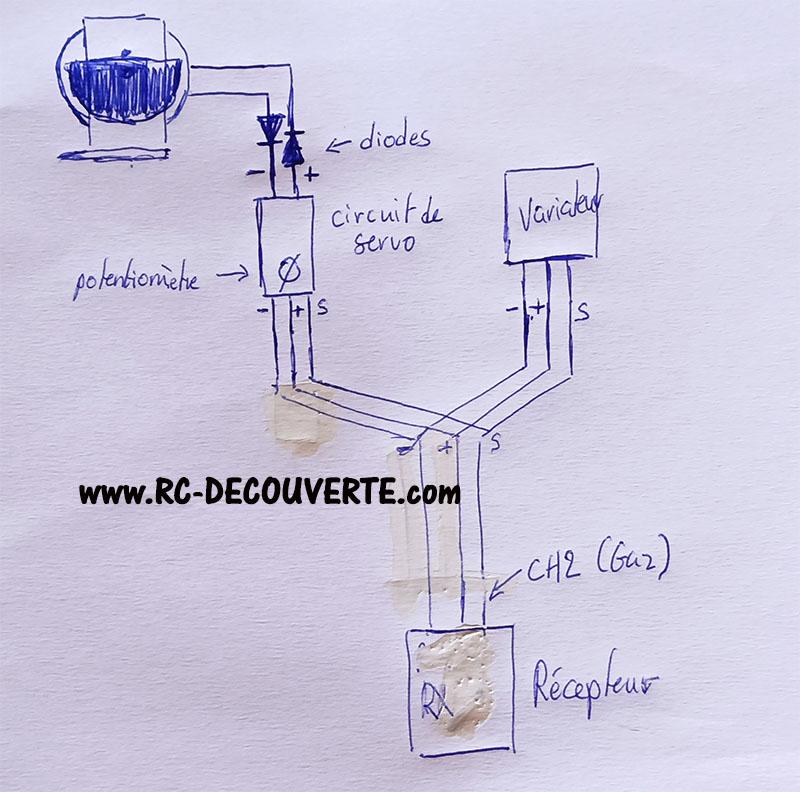Acheter ou Fabriquer un controleur ou circuit pour vibreur ou moteur à vibration pour RC Vibreu10