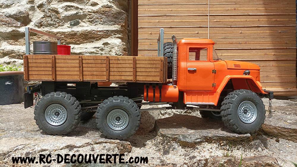 Camion Zil 131 6x6 impression 3D avec balancier totalement fait maison - Page 11 Zil13110
