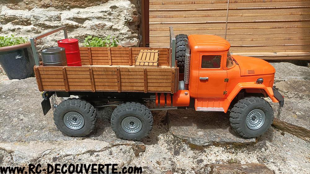Camion Zil 131 6x6 impression 3D avec balancier totalement fait maison - Page 11 Zil13111
