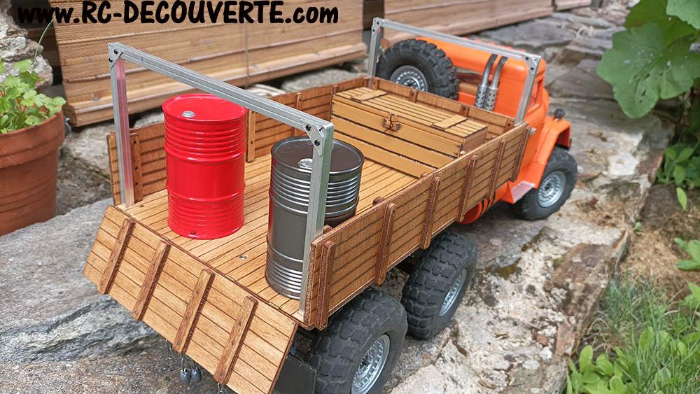 Camion Zil 131 6x6 impression 3D avec balancier totalement fait maison - Page 11 Zil13112