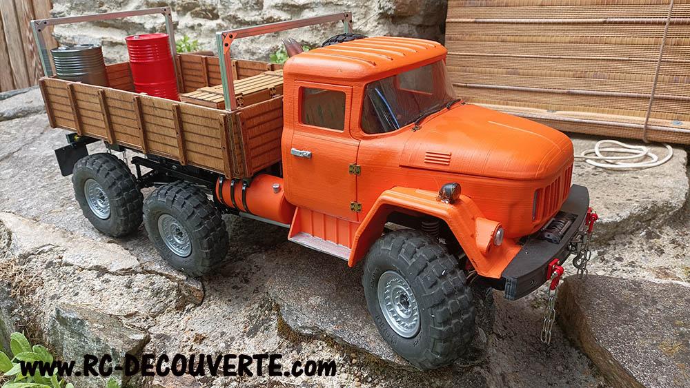 Camion Zil 131 6x6 impression 3D avec balancier totalement fait maison - Page 11 Zil13114