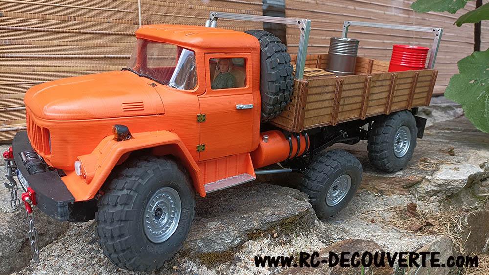 Camion Zil 131 6x6 impression 3D avec balancier totalement fait maison - Page 11 Zil13115
