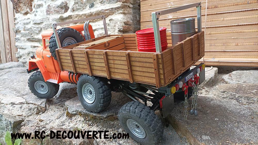 Camion Zil 131 6x6 impression 3D avec balancier totalement fait maison - Page 11 Zil13116