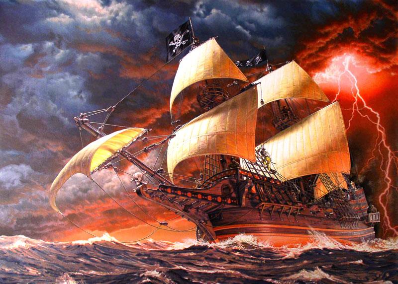 Les Pirates du Borgne ! Navire11