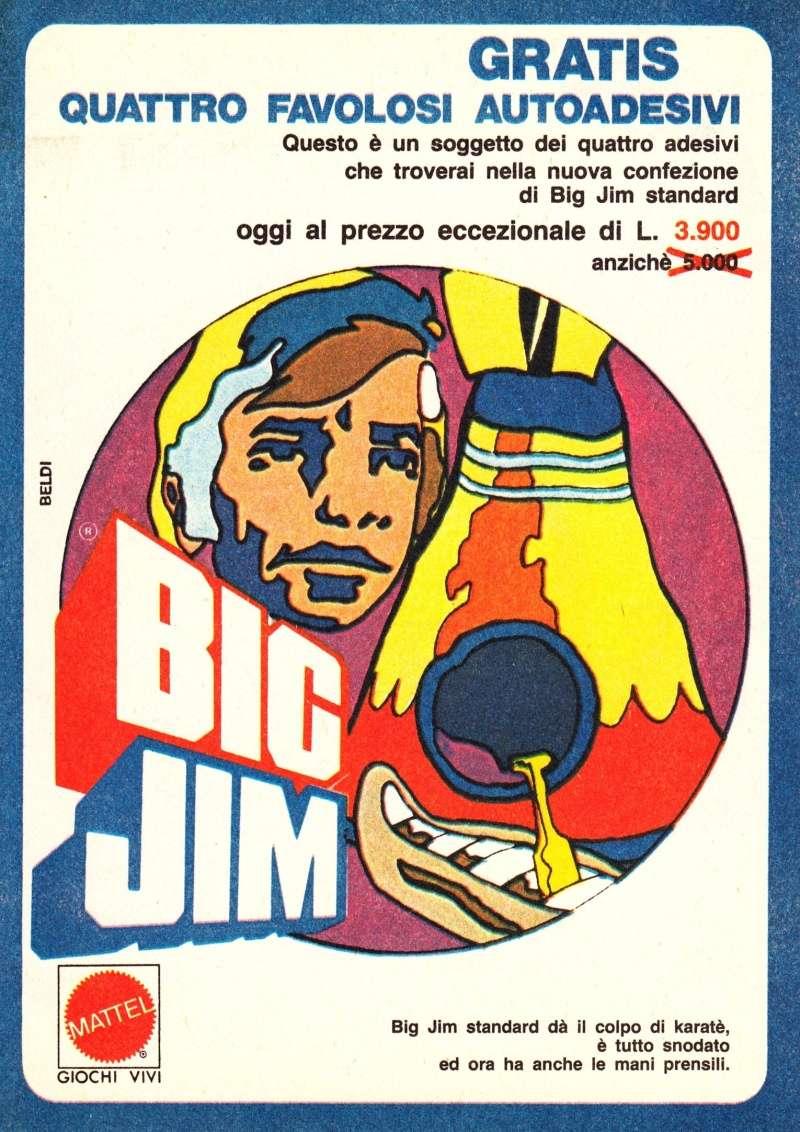 "PUBBLICITÀ ""AUTOADESIVI BIG JIM"" Image34"