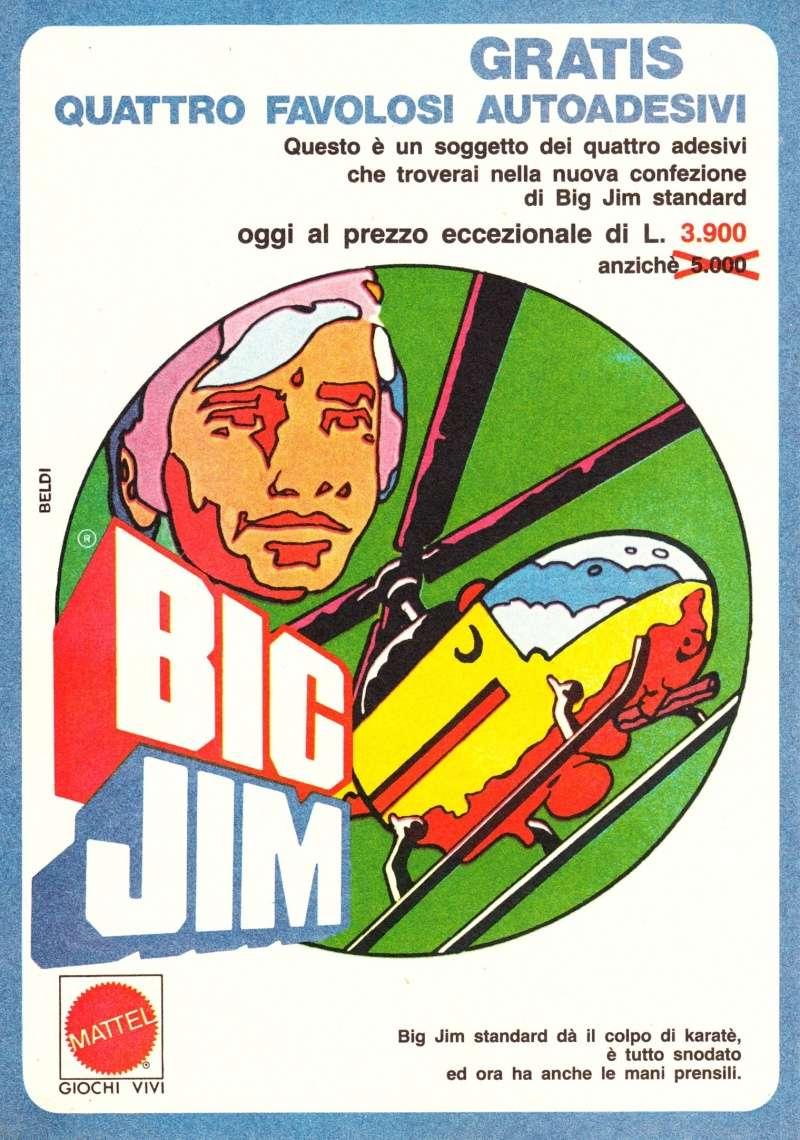 "PUBBLICITÀ ""AUTOADESIVI BIG JIM"" Image35"